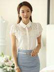 Sơ mi nữ kiểu, sơ mi công sở phong cách thời trang Hàn Quốc 2014