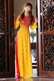 Áo dài cưới mang nét văn hóa truyền thống Việt Nam