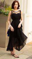 Đẹp dịu dàng với Bộ sưu tập Váy Maxi Hàn Quốc model 2014