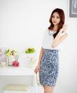 Váy liền thân cao cấp nhập khẩu Hàn Quốc