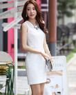 Váy liền thân Hàn Quốc hiệu Dressroom thời trang Hàn Quốc