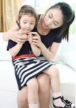 Váy đôi mẹ và bé hàng thiết kế