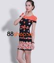 D1: Đầm Váy Công Sở mùa thu 2014 , nhiều mẫu váy hoa mới về . Free 50% phí ship .