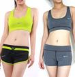 Xưởng may quần áo thể thao nữ, aerobic, gym, yoga...chất liệu polyester giãn 4 chiều giá sỉ, giá tốt