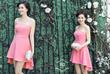 Đầm Cúp Hồng Tâm Tít,Đầm thiết kế siêu đẹp siêu quyến rũ,Là lựa chọn tuyệt vời cho các buổi dự tiệc