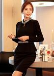 Phong cách công sở Hàn Quốc với Bộ sưu tập Váy liền thân Hàn Quốc Model 2014