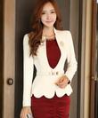 Bộ sư tập áo vest nữ Hàn Quốc thời trang công sở thu đông 2014 mới nhất