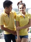 Áo thun đôi Burberry VNXK khuyến mãi giá tốt nhất 200.000đ/cặp