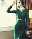 Váy liền thân Hàn Quốc thời trang duyên dáng, nữ tính mới nhất 2014