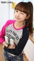 Các mẫu áo khoác Áo phông.Vest, Bóng chày, nữ Hàn Quốc 2015 cực cute giá rẻ 120k 250k. Full size S M L L/Hệ: 0984173431