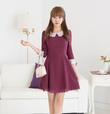 Váy liền thân công sở hiệu Oran thời trang Hàn Quốc