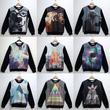 Áo Nỉ lót bông Galaxy, 3D, Da Hàn Quốc cho cả nam và nữ, áo đôi nỉ giá rẻ nhất Hà Nội