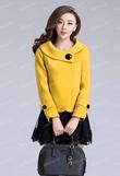 DE : Áo khoác dạ nữ mùa đông phong cách Hàn Quốc năm 2014 có sẵn hàng tại số 50 phố Đốc Ngữ Ba Đình HN