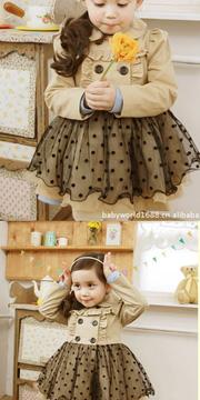 Ảnh số 9: V501 Váy đầm bé gái ren xoè thiết kế thân trên kiểu măng tô độc đáo, thời trang Hàn Quốc cho bé gái size 3 đến 7 tuổi khỏang 13-33kg - Giá: 320.000