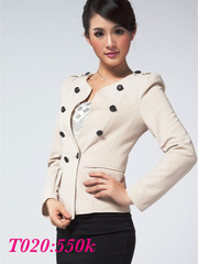 Double Breasted Jacket Women