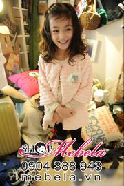 Ảnh số 61: AKG07 Áo khoác lông kiểu xếp tầng cho bé gái phong cách Hàn Quốc thương hiệu Thekidshow 3-8 tuổi - Giá: 280.000