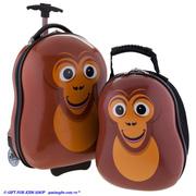 Ảnh số 22: Vali Balo Cuties Khỉ Con - Giá: 1.350.000