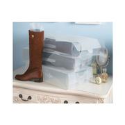 Ảnh số 37: Hộp nhựa đựng bốt hoặc đựng giày to - Giá: 50.000