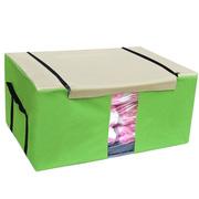 Ảnh số 81: Hộp đựng quần áo khung kim loại 75L xanh lá - Giá: 170.000
