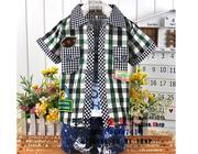 Ảnh số 51: Bộ phông quần jean áo sơ mi - Giá: 265.000
