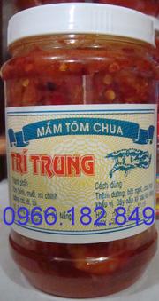 Ảnh số 14: Mắm tôm chua, lọ 500g. Trong ẩm thực sứ Huế tôm chua là món ăn nhà quê nhưng được rất nhiều người ưa thích.Tôm chua mang đủ sự tinh tế của người Huế - Giá: 65.000