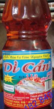 Ảnh số 15: Nước mắm nguyên chất cá cơm Dì Cẩn, chai 1000/ml - Giá: 80.000