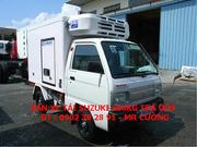 Ảnh số 1: Xe tải Suzuki đông lạnh 500kg 550kg 650kg 750kg thùng đông lạnh - Giá: 283.000.000