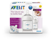 Ảnh số 30: Philips AVENT SCF690/27 125 ml Natural Newborn Feeding Bottle (Pack of 2) - Giá: 500.000