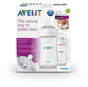 Ảnh số 35: Philips AVENT Natural SCF693/27 260 ml Feeding Bottle (Pack of 2) - Giá: 500.000