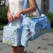 Ảnh số 1: Túi 4 chi tiết mẹ và bé xanh - Giá: 180.000