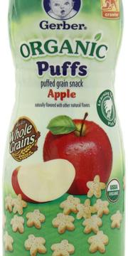 Ảnh số 4: Bánh Gerber Mỹ Organic Apple - Giá: 75.000