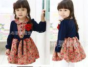 Ảnh số 42: V515 Váy hoa giả 2 lớp gắn hoa xinh xắn cho bé gái 2-7 tuổi - Giá: 265.000