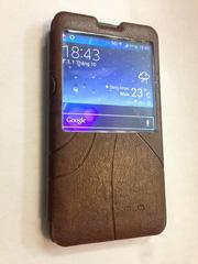 Ảnh số 9: Bao da Kalaideng Oscar S-View Galaxy Note 3 - Giá: 180.000