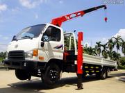 Ảnh số 3: Xe tải Hyundai gắn cẩu - Giá: 1.020.000.000