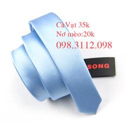 Ảnh số 5: Cavat xanh biển nhạt - Giá: 35.000