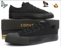 Ảnh số 83: converse đen tuyền>>hot<< - Giá: 220.000