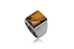 Ảnh số 6: Nhẫn nam, nhẫn burberry style, măng séc bạc mặt đá quý cài tay áo sơ mi - Giá: 330.000