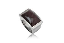 Ảnh số 30: Nhẫn nam, nhẫn burberry style, măng séc bạc mặt đá quý cài tay áo sơ mi (đã bán) - Giá: 330.000