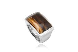 Ảnh số 33: Nhẫn nam, nhẫn burberry style, măng séc bạc mặt đá quý cài tay áo sơ mi (đã bán) - Giá: 330.000