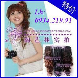 Ảnh số 62: tóc buộc xoăn - Giá: 200.000