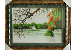 Ảnh số 93: Hồ Gươm liễu phượng - Giá: 850.000