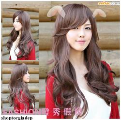 Ảnh số 93: Tóc bộ có da đầu Hàn quốc - Giá: 800.000