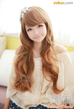 Ảnh số 14: Tóc bộ có da đầu Hàn quốc - Giá: 750.000