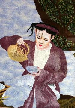Ảnh số 43: Thiếu nữ pha trà - Giá: 800.000