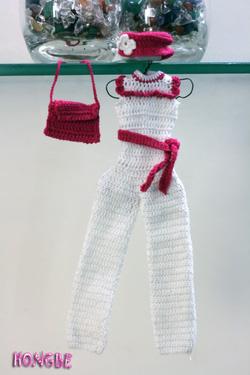Ảnh số 5: Bộ jumpsuit trắng - Giá: 80.000