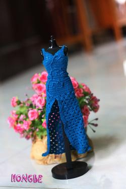 Ảnh số 23: M12 - Váy dạ hội xanh - Giá: 150.000