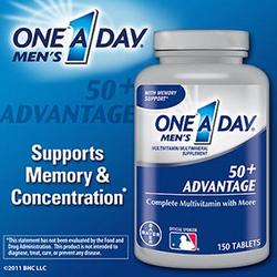 Ảnh số 8: One A Day® Men\\\s 50+ Advantage. Lọ 150 viên - Giá: 700.000