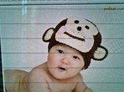 ?nh s? 31: Mũ móc trẻ em - Giá: 1.000