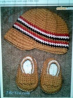 ?nh s? 35: Mũ móc trẻ em - Giá: 1.000