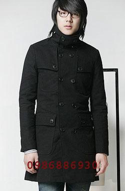 ?nh s? 3: áo choàng dạ nam - Giá: 1.600.000